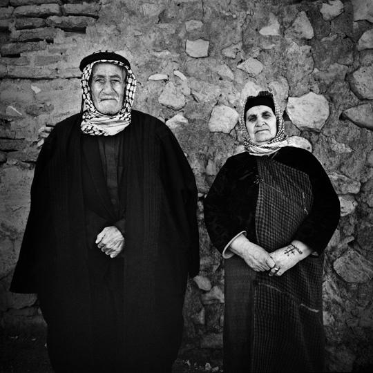 Christians from Qaraqosh in the classic dress of christians from Qaraqosh.